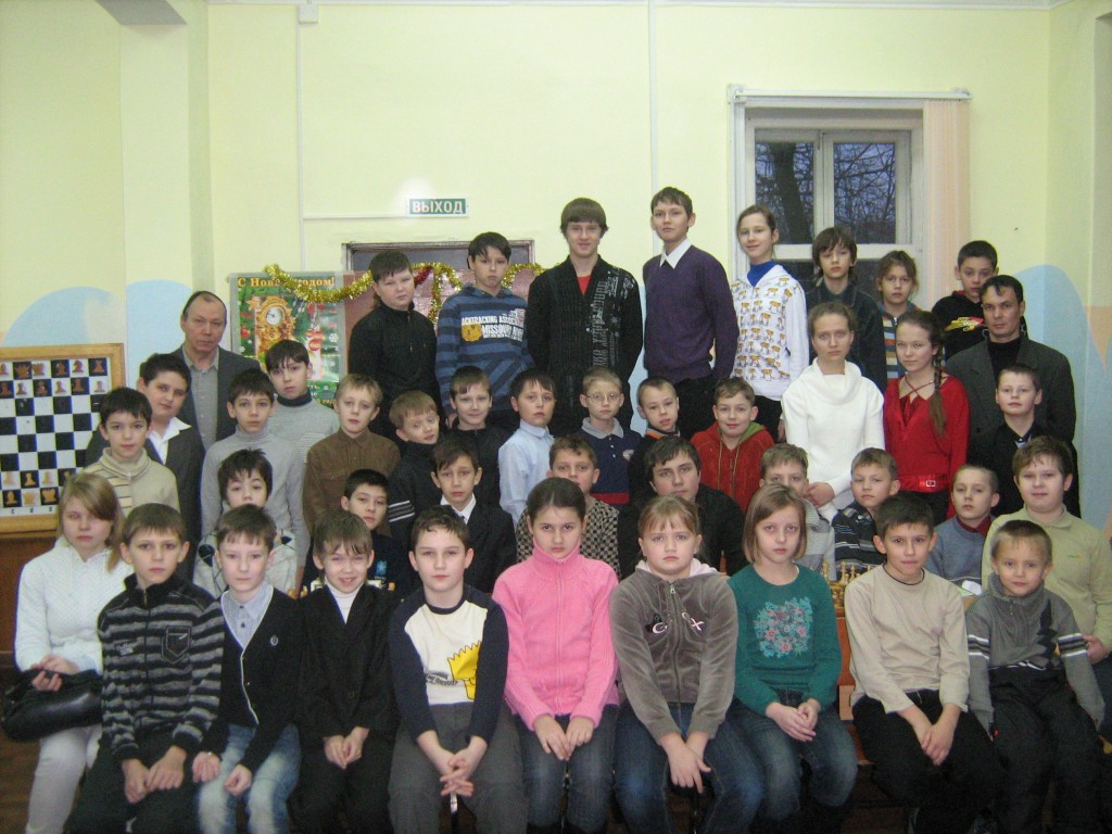 Новогодний шахматный турнир-2011,г.Вязники