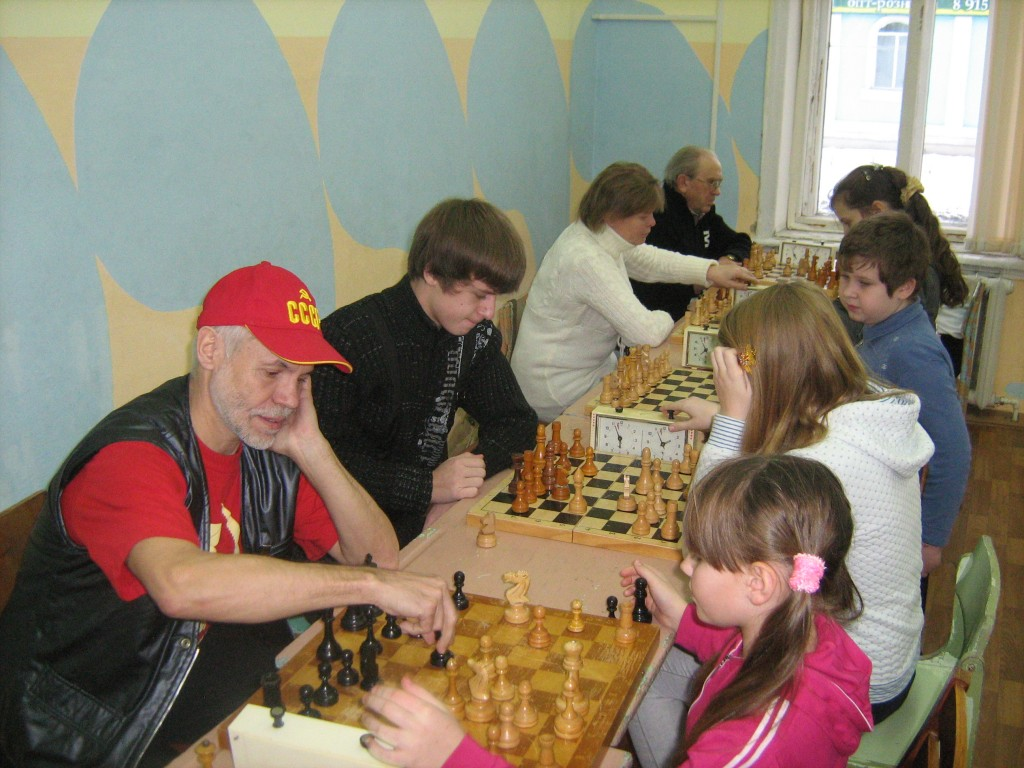 Новогодний блиц-турнир по шахматам-2011, город Вязники