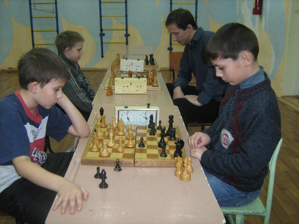 Рождественский шахматный турнир, Вязники, январь 2012