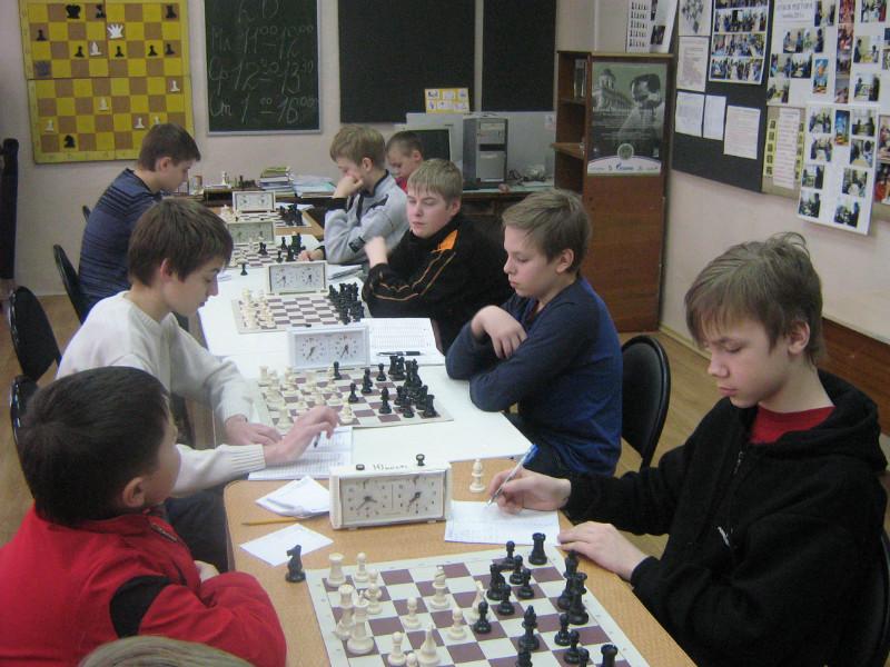 Личное первенство по шахматам среди школьников г.Ковров