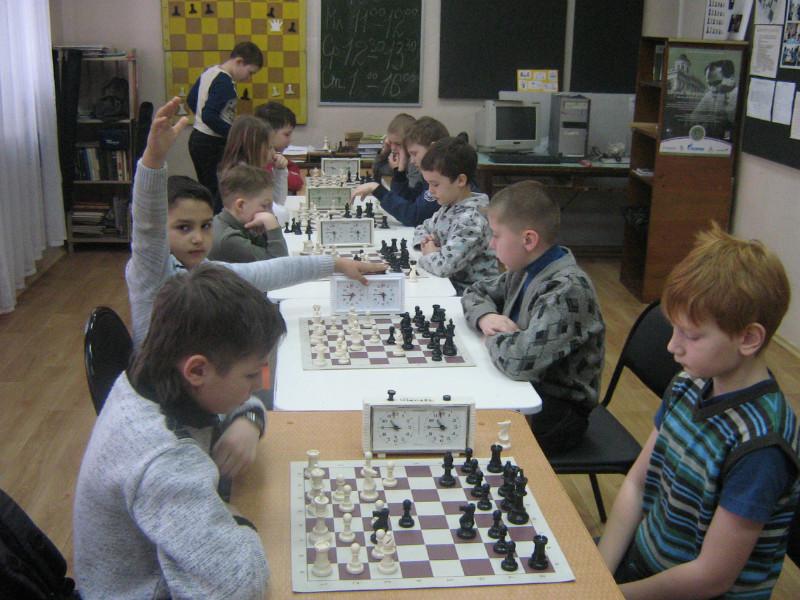 Личное первенство по шахматам среди школьников г.Коврова