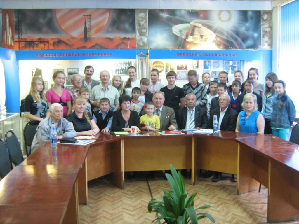 Встреча с Кубасовым В. Н. (СОШ№2)
